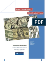 Bir Rezerv Para Birimi Olarak Dolar- Dünü,Bugünü, Yarını