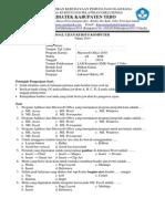 Soal Ujian Office 2010