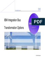 IIB TransformationOptions