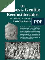Carl Olof Jonnson - Tempos Dos Gentios Reconsiderados