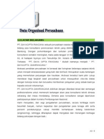 A 1 Data Organisasi Perusahaan