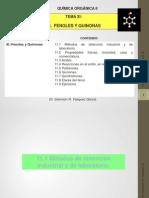 11 UNIDAD XI-Org 2 (Fenoles y Quinonas) 2014