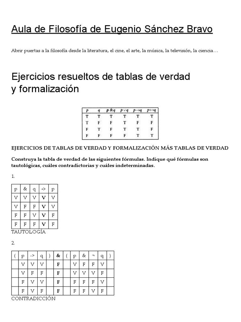Ejercicios De Logica Proposicional Resueltos Epub Download