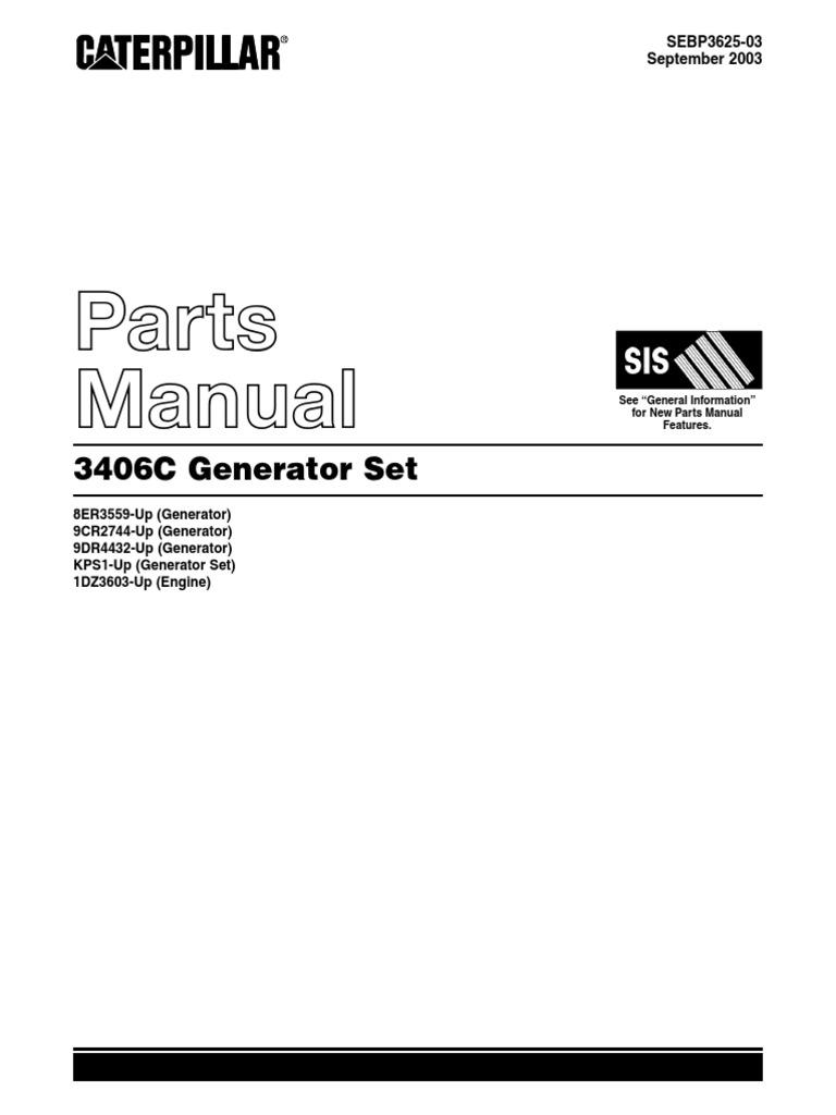 Manualpartesmotorcaterpillar3406c fandeluxe Image collections