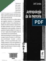 Candau - Antropologia de La Memoria