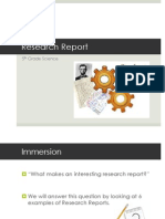 research report2