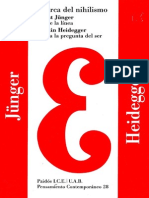 Junger y Heidegger