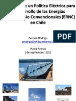 8-Política Eléctrica y ERNC (P.rodrigo) Final