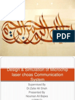 Microchip laser design and simulation