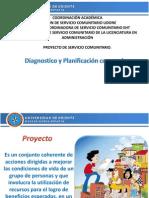 Diagnostico y Planificacion Comunal.