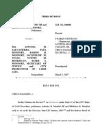 JURIS Perjury Cases