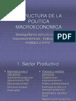 Estructura de La Politica Macroeconomica