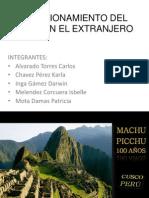Posicionamiento Del Perú en El Extranjero