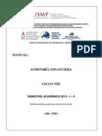 Manual de Auditoría Financiera - 2013 - i - II
