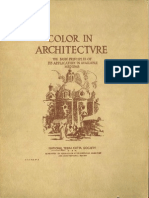 Color in Architecture, (1922)
