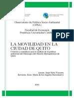 Movilidad Quito