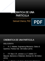 Cinematica de Una Particula - Week 11