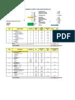 Cut and Fill Unit Cost