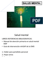 Salud Mental Depresiones