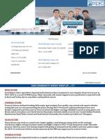 Weekly Agri Report 09 June 2014