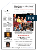 Newsletter, October 09_Shree Kshatriya Mitra Mandal of California, by Bhavin P. Kapadia