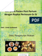 Diet Pada Pasien Post Partum Dengan Ruptur Perineum