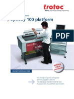 Speedy 100 Laser Engraver Folder