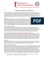 Air Pollution Effects Respiratory