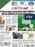 Periódico Norte edición impresa del día 9 de junio del 2014