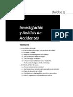 investigación y auxilios en accidentes