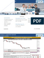 Weekly Commodity Trading Market Report 09- Jun -2014 by EPIC RESEARCH