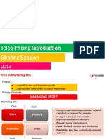 Telco Pricing Introduction
