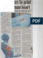 3-d Printing of Heart