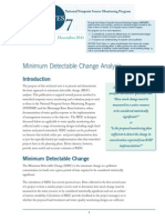 Minimal detectable change (MDC)