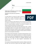 Parroquialismo en Burgaria