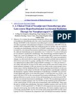 Clinical Trial Chemoterapy NPC