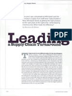 eLeading a Supply Chain Turnaround(p6)