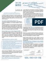 Carta Azul Rouse Aguilar