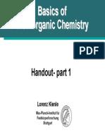 Bioinorganic Handout