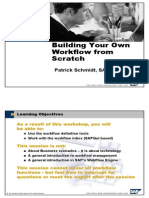 Sap - Business Process Management - Build Your Own Workflow From Scratch