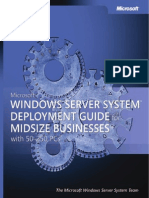Windows Server System Deployment Guide for Midsize Business eBook