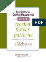 5 Crochet Flower Patterns