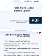 The Daala Video Codec: