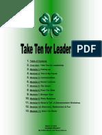 Take Ten for Leadership