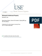 Samuels -Relinquish Intellectual Property