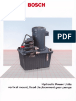 Hydraulic Power Units Vertical Mount Fixed Displacement