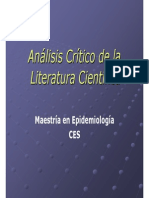 Analisis critico presentacion