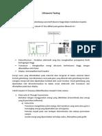 Ultrasonic Testing Manual