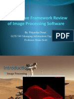 Comparative Framework Review of Image Processing Software