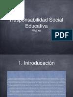 la responsabilidad social educativa